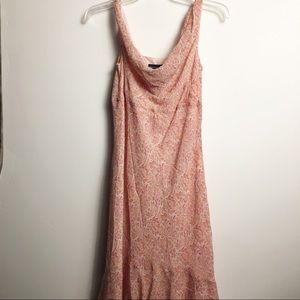 Ann Taylor Petites Silk Dress 8P